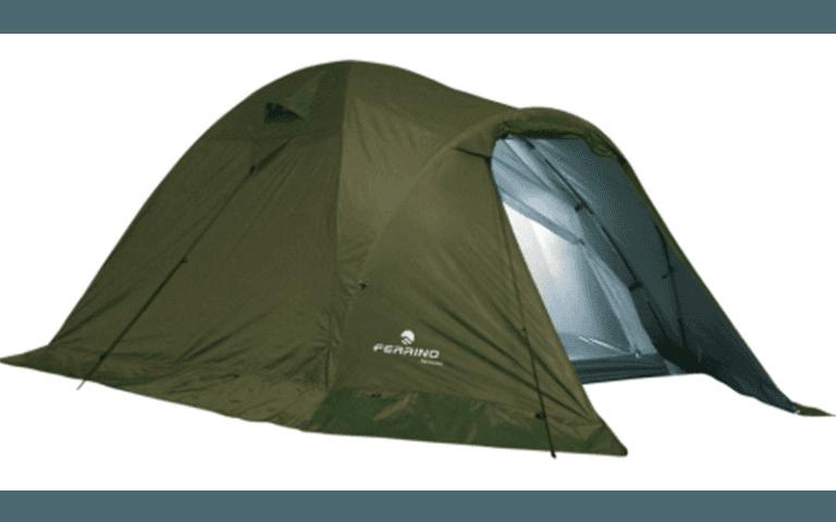 tenda da campeggio verde
