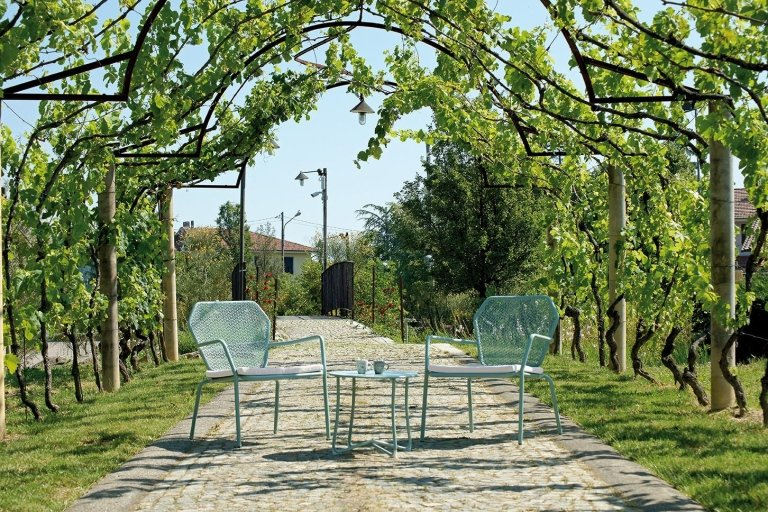 sedie moderne per giardino