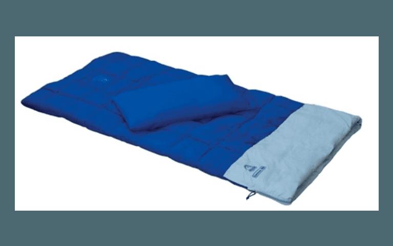 sacco a letto blu