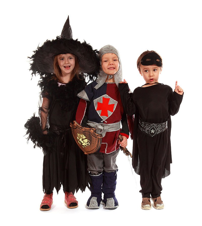 children dressed in costumes in Auckland
