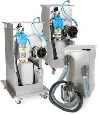 Compact oil separator