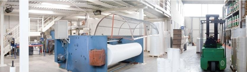Processing of non-woven fabric