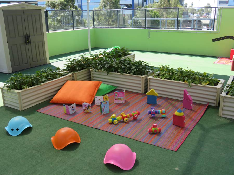 play area of Giggle Childcare