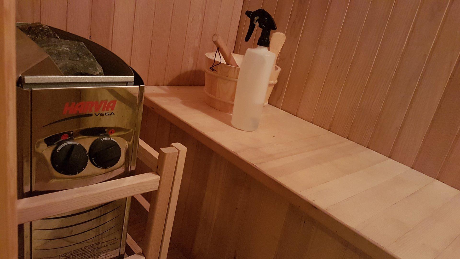 Challenge Fitness New Sauna