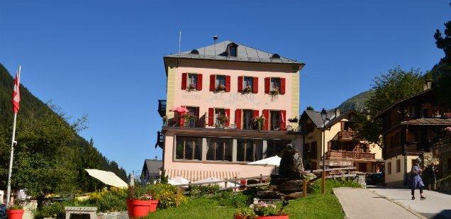 Hotel Besso, Zinal