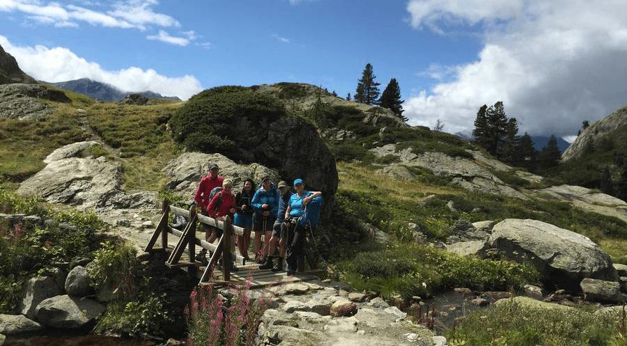 Descent to La Thuile