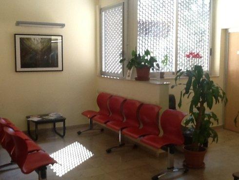 Sala attesa dello studio medico