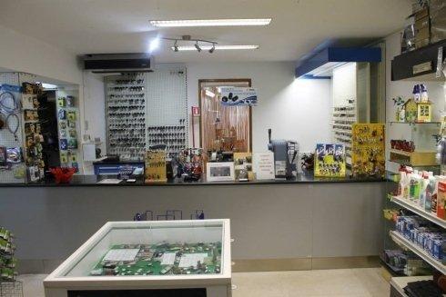 interno negozio serrature