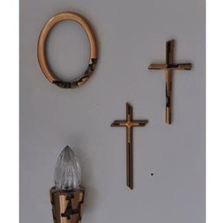 croci in bronzo