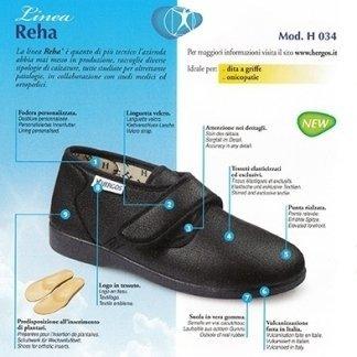 ciabatta ortopedica, sandalo ortopedico, scarpa ortopedica