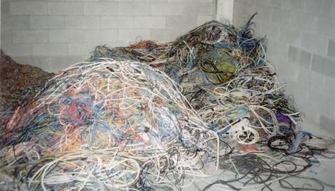 macinazione cavi elettrici