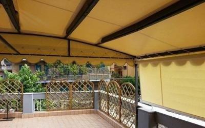Realizzazione coperture per esterno su misura - Salerno - Teloni Di Riso