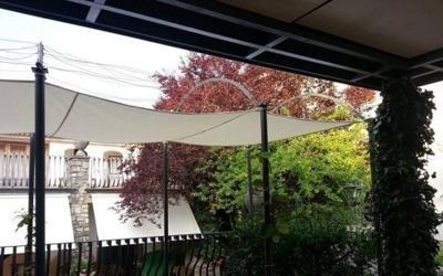 realizzazione coperture in pvc per giardini