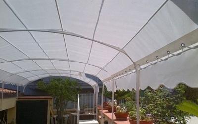 realizzazione coperture per terrazzi salerno