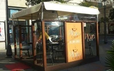 realizzazione coperture in pvc per ristoranti salerno