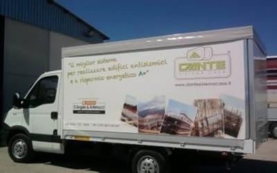 teloni per furgoni salerno