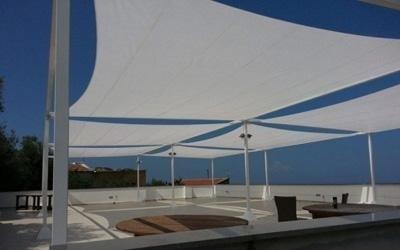 realizzazione coperture per piscine angri