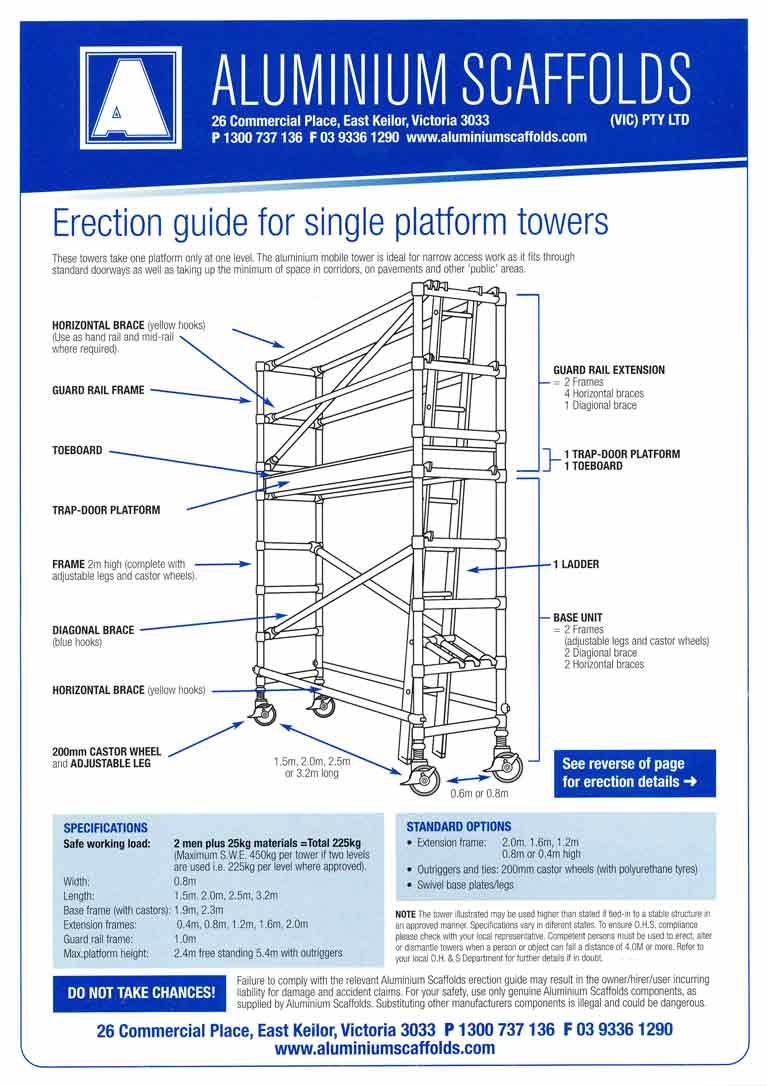 single platform guide