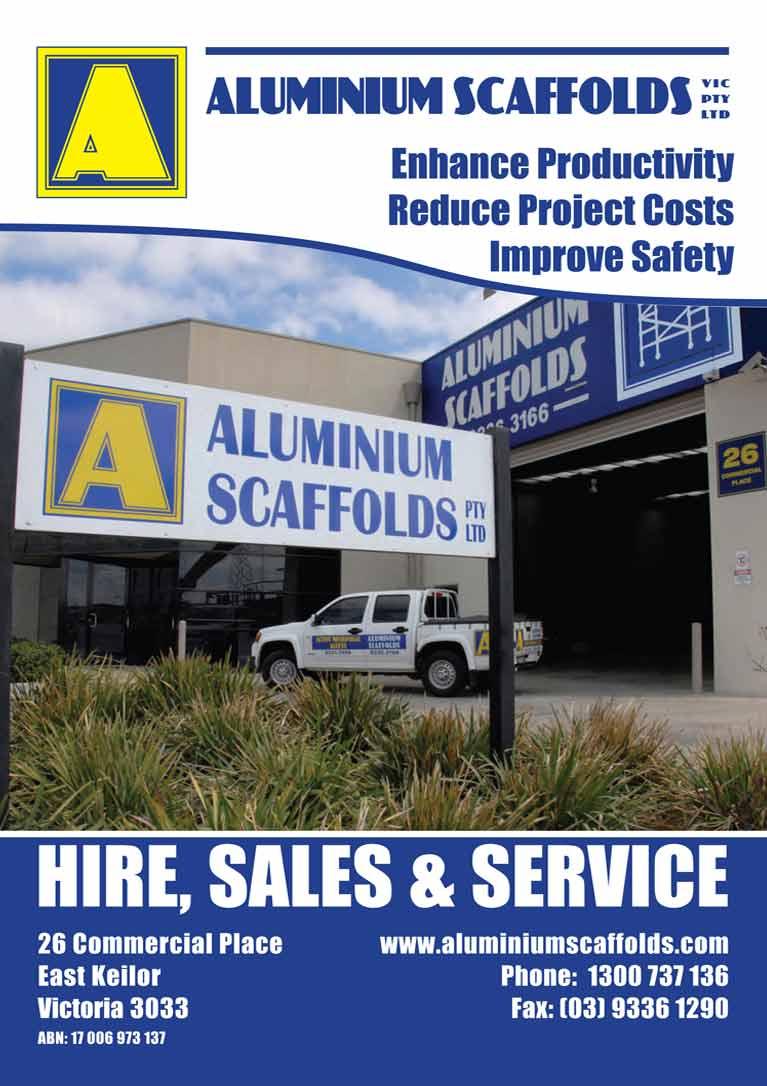 aluminium scaffold brochure
