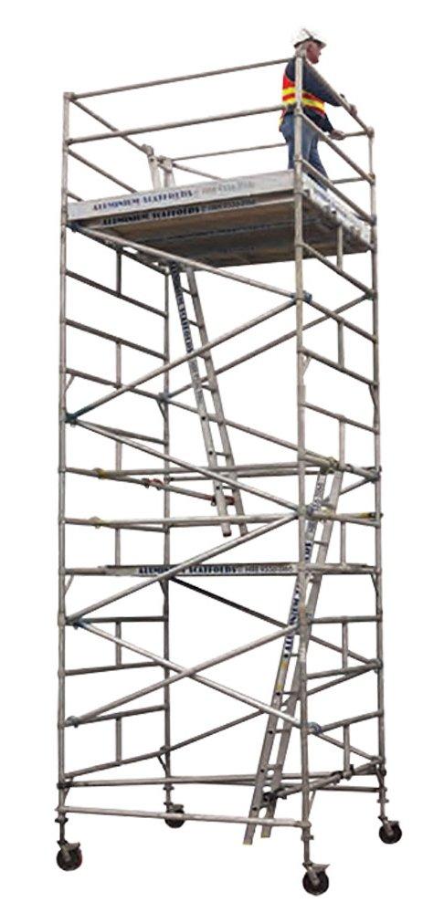 Aluminium mobile towers