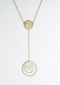 Oro giallo doppia spirale