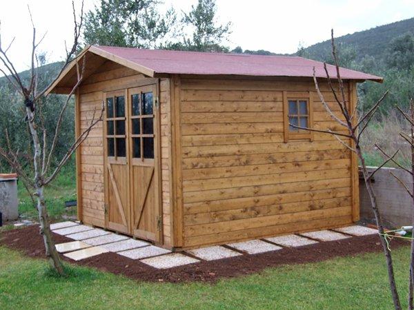 casa in legno per giardini