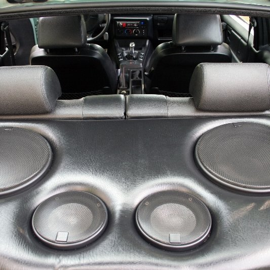 Car audio system.