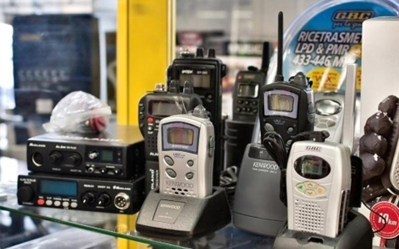 Verkauf Funksprechgeräte