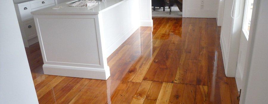 Floor sanding makes floorboards look like new again in Fraser
