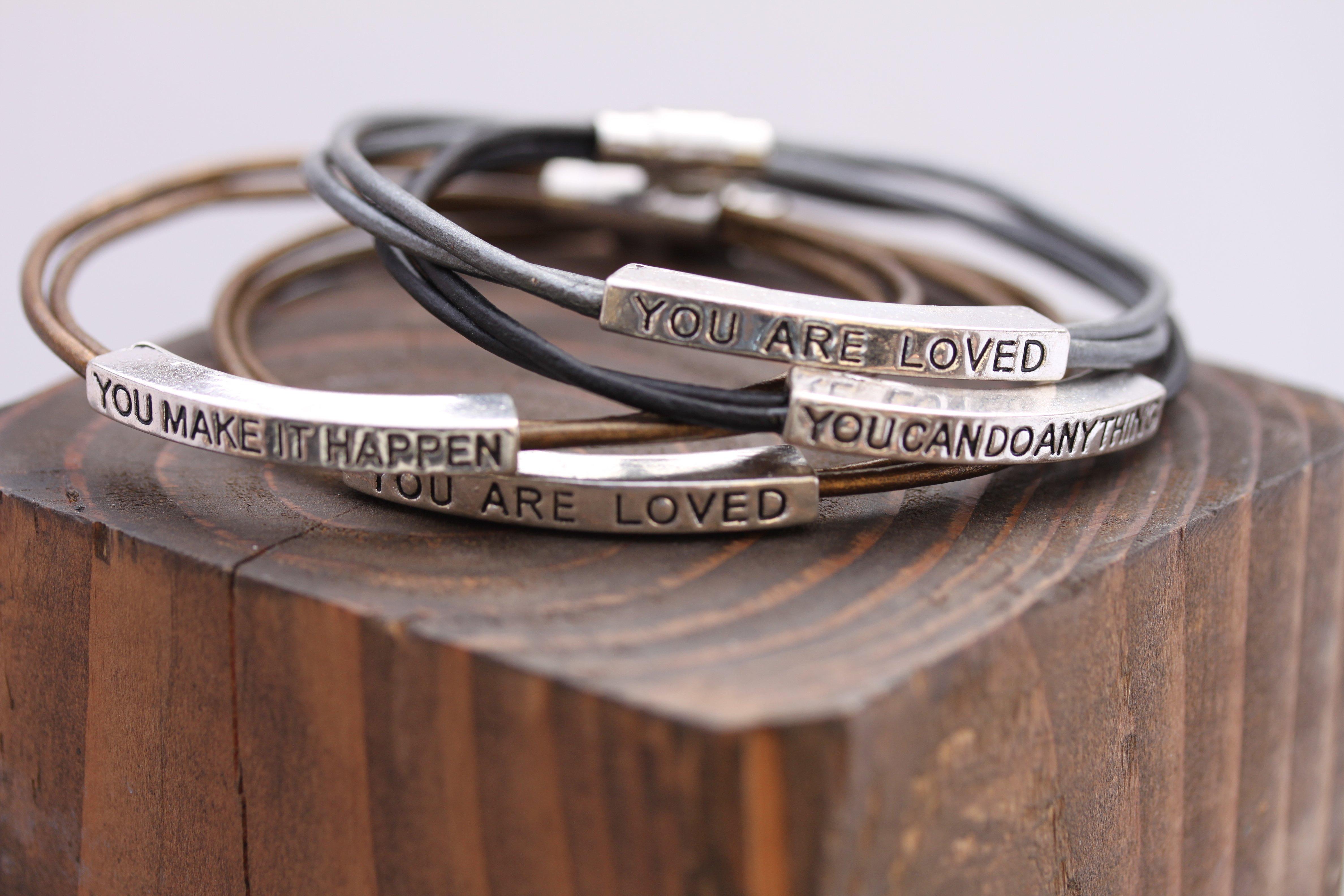 affirmation bracelets Milford Pa