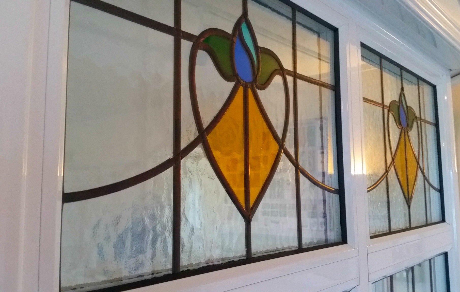 Light Grey Aluminium Windows And Glass