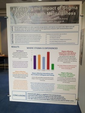 Doctors' Support Network 2016 DSN Stigma Survey 2014 poster mental health