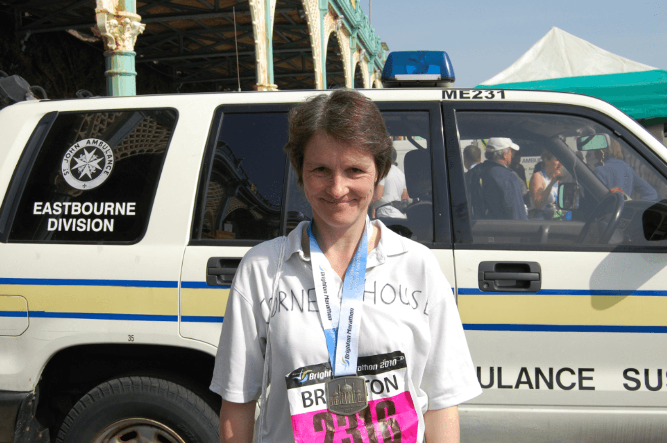 Doctors' Support Network 2016 Dr Kathy Grant Brighton marathon mental health