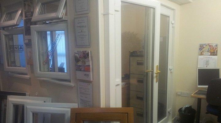 upvc double and triple glazing showroom