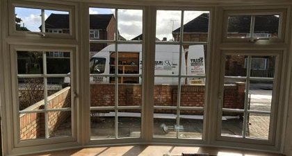 Replacement double glazed  bay