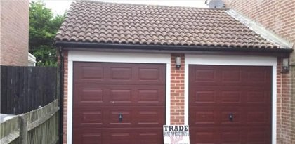 Replacement up and over garage doors in Basingstoke