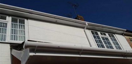 Soffits fascia and guttering upvc replacement