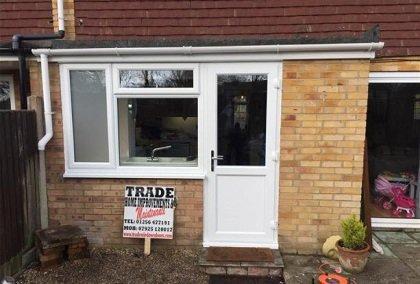 Window and door upvc in Basingstoke house