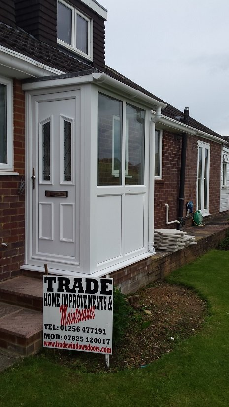 double glazed upvc porch