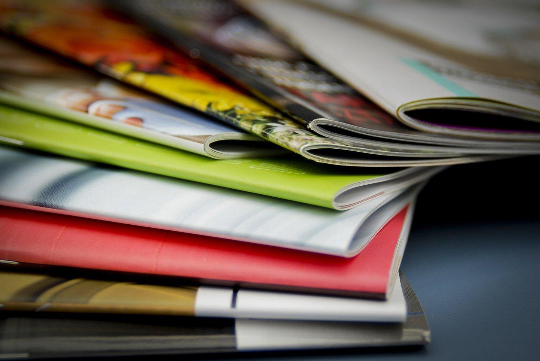 diverse tipi di riviste