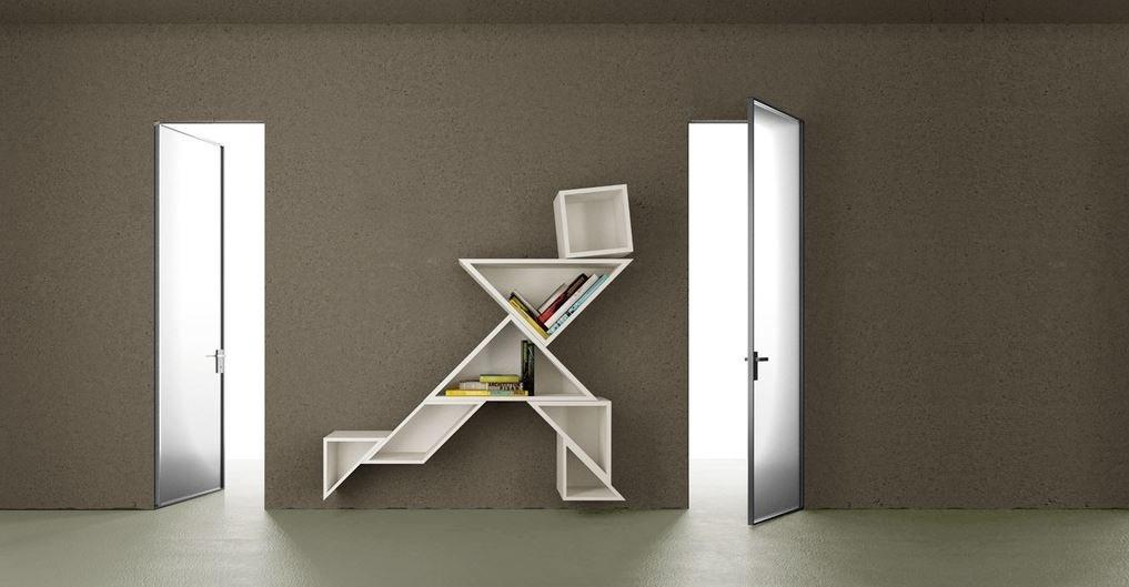 Porte interne in vetro e alluminio