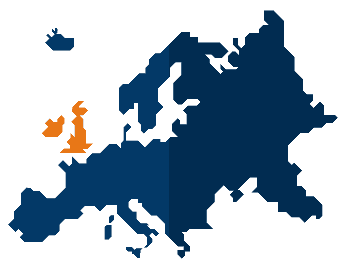vector image of europe