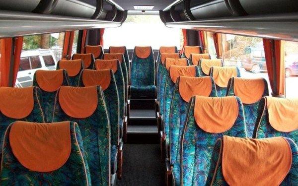 Interno bus Iveco Mago 30 passeggeri