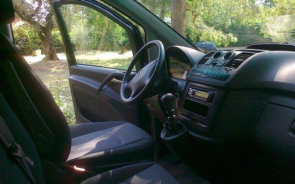 Interni Minibus Mercedes Vito 8 passeggeri