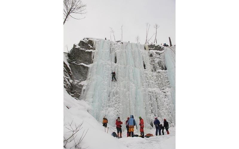 Cascate di ghiaccio Val Varaita