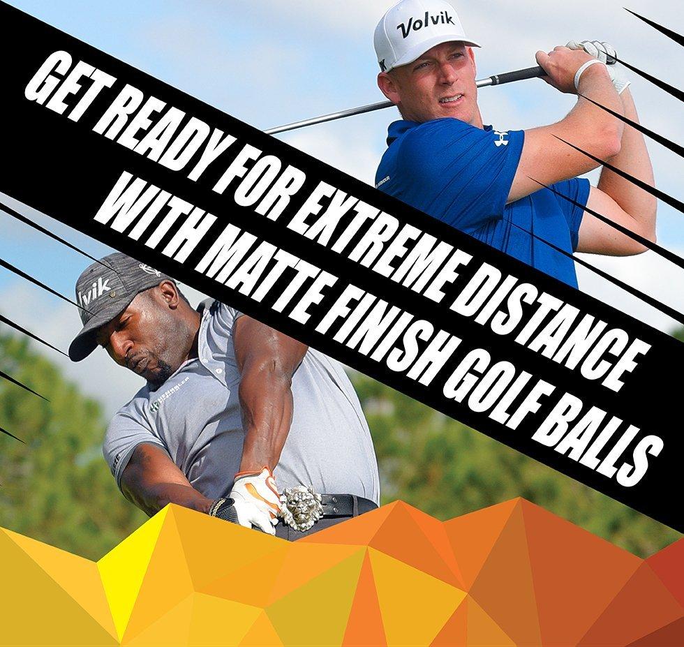 volvik vivid xt white matte finish golf ball