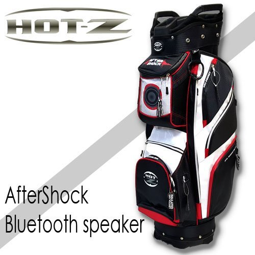 aftershock golf bag with bluetooth speaker