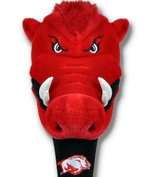 arkansas razorbacks hog head cover