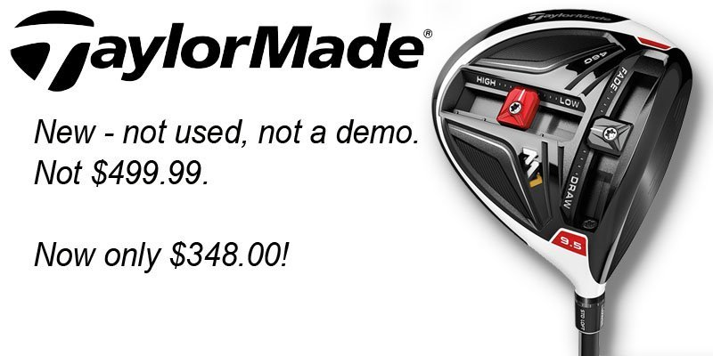 taylormade m1 sale