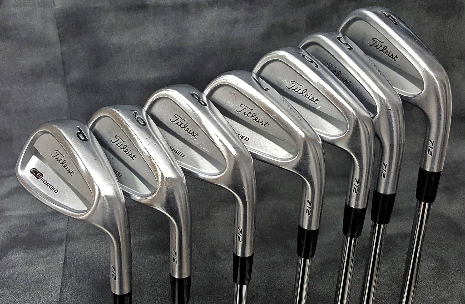 used titleist cb 712 forged irons